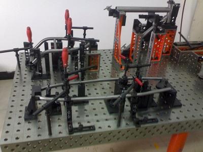 整套三维柔性焊接平台