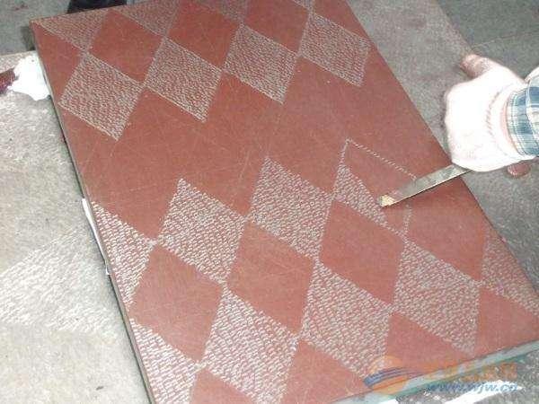 铸铁平板涂色刮研