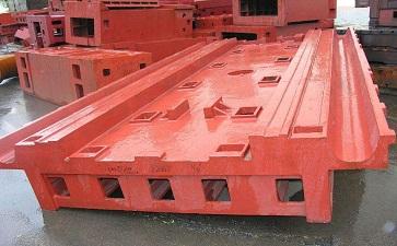 机床铸件导轨面