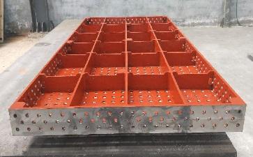 三维柔性焊接平台加工